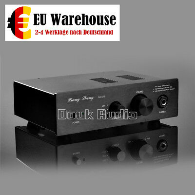 Stereo D/A-Wandler mit USB DAC Audio Vollverstärker HiFi Pre-Amplifier Headphone