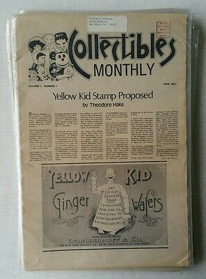 Collectibles Monthly - Theodore Hake Large Lot Fanzines Entire Run