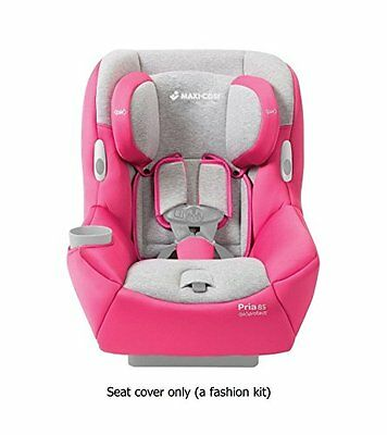 Maxi-Cosi Pria 85 Car Seat Fashion Kit, Passionate Pink (Car Seat Sold Separatel