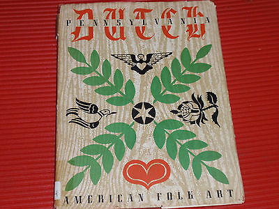 Vintage Book Pennsylvania Dutch Folk Art 1946