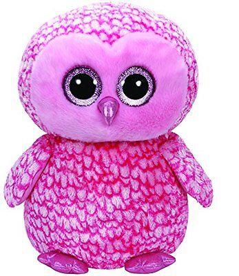 Large Plush TY36608 - TY Beanie boo  S - Pinky The Owl