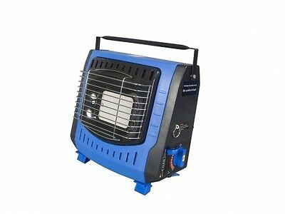 MINI PORTABLE GAS HEATER camping camp garage shed greenhouse cartridge hottie