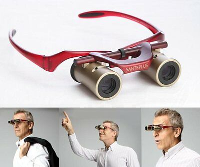 100% Auth Kabuki Glasses Hands free automatic focus sports binoculars from Japan