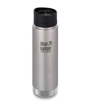 KLEAN KANTEEN K20VWPCC-BS 592ml Vacuum Insulated Flask (Brushed Stainless)