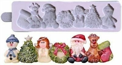 Karen Davies Christmas Border Sugarcraft Mould NEXT DAY DESPATCH