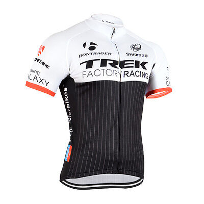 New Mens Bike Cycling Uniform Polyester Bicycle Short Sleeve Jerseys 3 Pockets