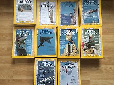 Vintage National Geographic magazine 1960 to 1964 - Choose Your 1960s Issue