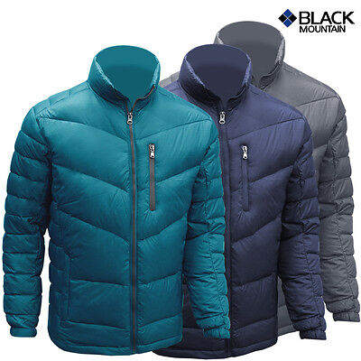 Black Mountain Camp Outdoor Jacket Lightweight DUCK Down Jacket