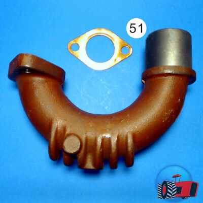 EEL5901 Exhaust Elbow Massey Ferguson TEA20 Tractor with MF 4Cyl Petrol Engine