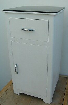 Vintage Hospital Cabinet Industrial Home Bar Bathroom Bedside Cabinet Unit