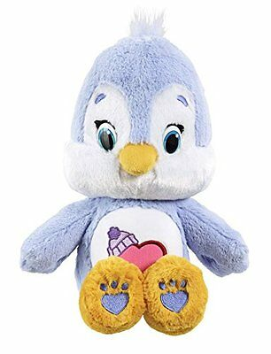 Vivid Imaginations Care Bears Cousins Cozy Heart Penguin Plush Toy with DVD  Med