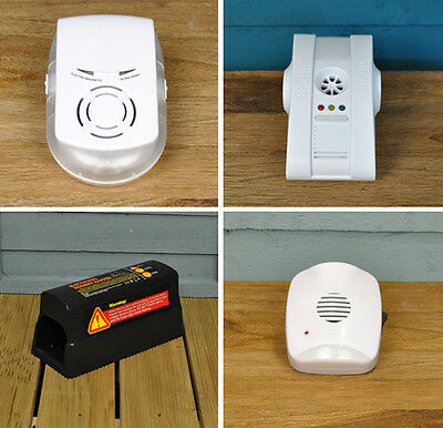 Mouse, Rat and Rodent Repellers and Traps, Ultrasonic, Magnetic and Electric