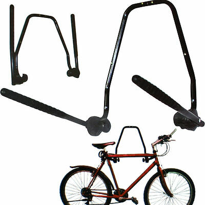 New 2Bike Wall Mounted Bicycle Hanger Cycle Storage Mount Hook Holder Stand Rack