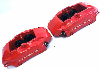 Porsche 991 996 Boxster Brembo 4 Pot Piston Brake Calipers Hoses : AP Racing