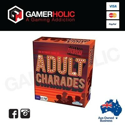 Adult Charades Board Game Brand New