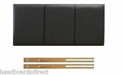 Faux Leather Headboard All Sizes 3FT Single 4FT6 Double 5FT King Size !- NEW