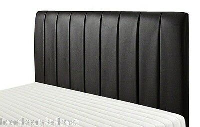 3Ft Single 4Ft6 Double 5 Ft King Size Bed Headboard Faux Leather - Bed Head