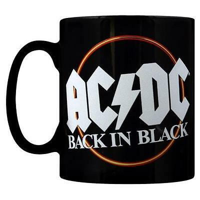 AC/DC - Back In Black Premium Tea / Coffee Mug - New & Official In Picture Box