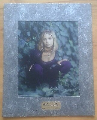 """The Slayer"" 11x14 inch Buffy the Vampire Slayer limited edition print 2026/2500"
