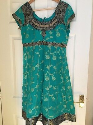 Bollywood Indian Suit Churidar Size 10/12