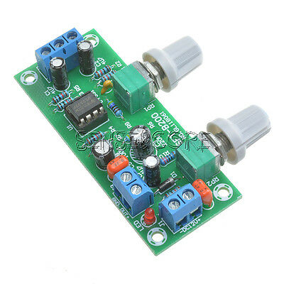 Preamplifier Board NE5532 DC10-24V Subwoofer Preamp Low Pass Filter Plate New