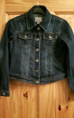 NEXT Girls Denim Jacket Age 11-12 Years