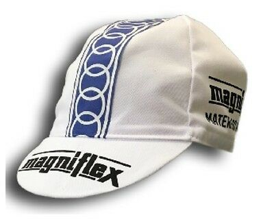 MAGNIFLEX RETRO CYCLING TEAM BIKE CAP - Vintage - Fixed Gear - Made in Italy