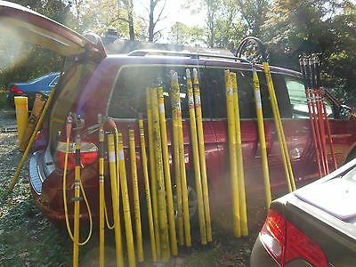 electric grounding tools (lot)  mostly hastings hot sticks