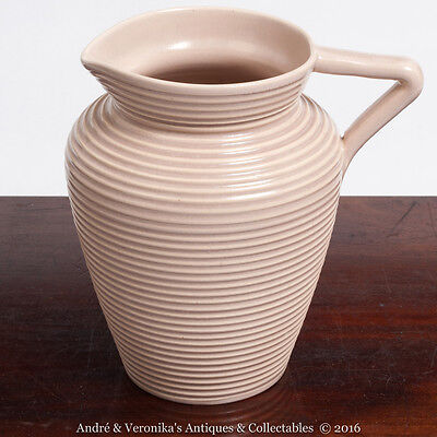 Water Jug CARRIGALINE Pottery Cork CARRIG WARE Irish Studio Vintage Lilac Pink