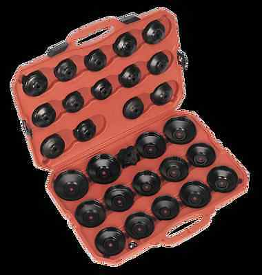 Sealey 30 Piece Oil Filter Cap Wrench Set