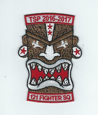 121st FIGHTER SQUADRON TSP 2016-2017 patch