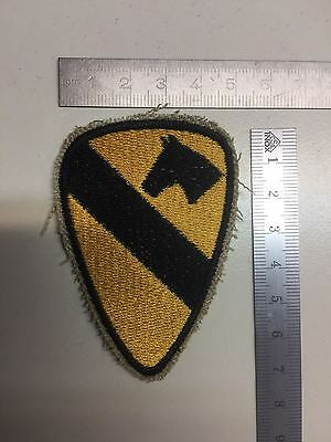 US Army Patch Pocket Patch 1st Cav- First U.S. Cavalry Division - cut edge