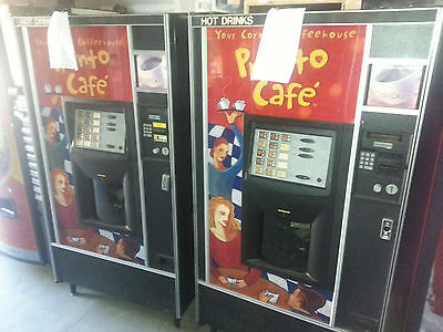 Pronto AP 223 COFFEE MACHINES ~ REMOVED FROM LOCATION, WHOLESALE ~ $3500 Retail!