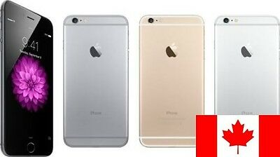 iPhone 6 PLUS 16gb Unlocked Smartphone in Gold, Silver or Gray