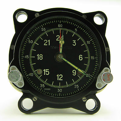 129ChS-55M USSR Military Air Force Clock