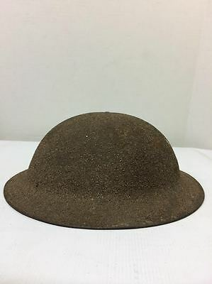 ORIGINAL WWI US M1917 DOUGHBOY BRODIE STEEL HELMET Marked Z0190