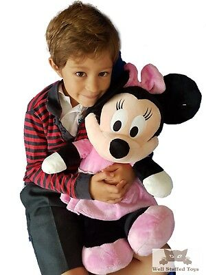 """Large Minnie Mouse 24"""" 60cm Deluxe Plush Soft Toy"""