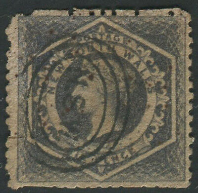 Australia New South Wales 1856 6d perf 12 used