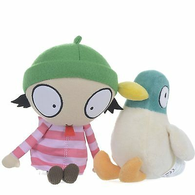 Sarah and Duck Twin Pack With Sound Soft Toy New With Tags