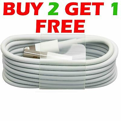 USB Sync & Charger Data Lead Cable For Apple iPhone5 6PLUS 5C 5S iPad 4 Air Mini