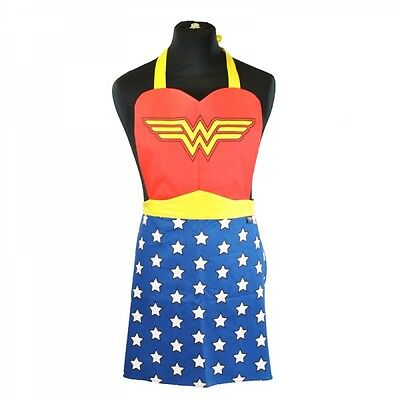 Wonder Woman Outfit Logo Kitchen Apron Official DC Comics Justice League