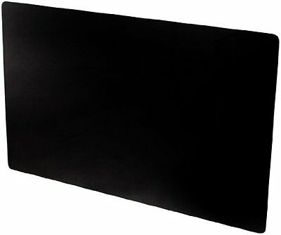 Adams Vitreo Black Glass Radiator Cover Small  900mm Length