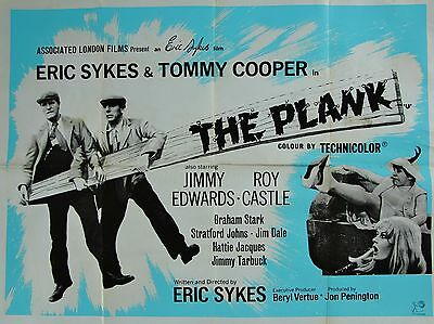 """The Plank 16"""" x 12"""" Reproduction Movie Poster Photograph"""