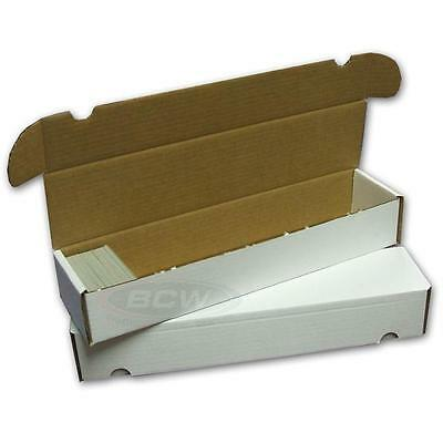 BCW 930 COUNT ct Corrugated Cardboard Storage Box - Sports/Trading/Gaming Cards