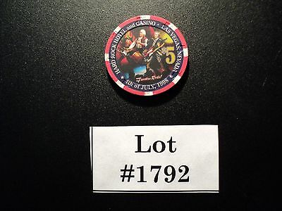 Hard Rock Casino (LV) $5 Chip (4th of July 1998) ...AUCT#1792