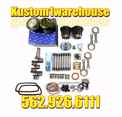 VW 1600cc Volkswagen Engine Rebuild Kit 85.5 X 69 Bug Super Beetle Ghia Bus