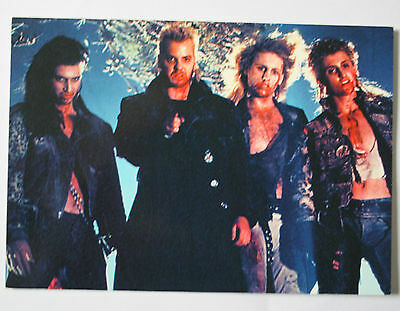 THE LOST BOYS Original Collectable Postcard OFFICIAL New Old Stock