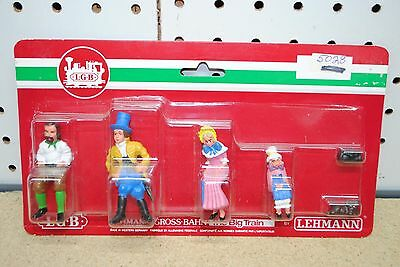 LGB 5028 19-Century Seated Travelers of the Old West Figures *G-Scale* NEW