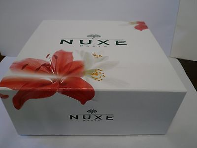 Nuxe Gift Set, Prodigieuse Oil, Candle, Cleansing Gel, Body Cream, Gift Box