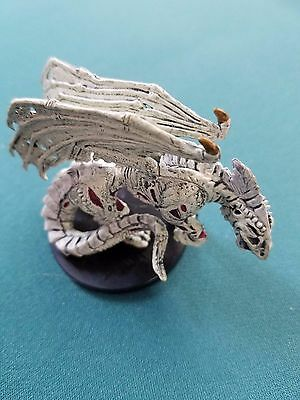 Zombie White Dragon - 60/60 - Dungeons and Dragons Miniatures - D&D